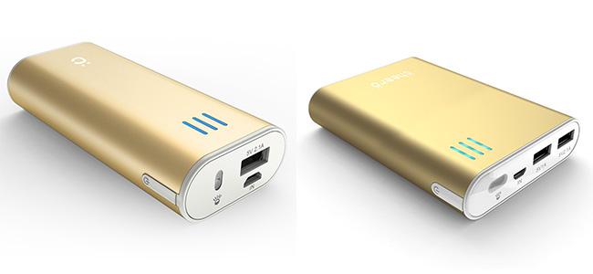 【速報】cheero、モバイルバッテリーの「Power Plus 2」と「Power Plus 2 mini」のゴールドカラーをリリース!
