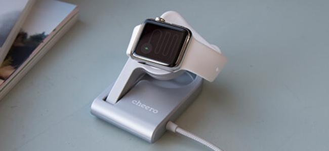 折りたたみが可能なApple Watch充電スタンド「cheero Charging Dock」が発売開始!