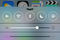 【iOS 7特集】コントロールセンターの機能を徹底解説!これは便利すぎるシステムだ!