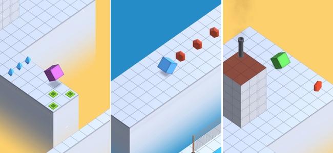 キューブを転がしてゴールへ向かえ!クリアだけならなんとかなる、全ての宝石を集めようとするといきなり至難の業になるアクションパズル「cube90」レビュー