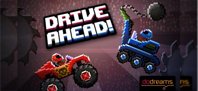 頭を垂れたところをかち割れ!レーシングバトルゲーム「Drive Ahead!」