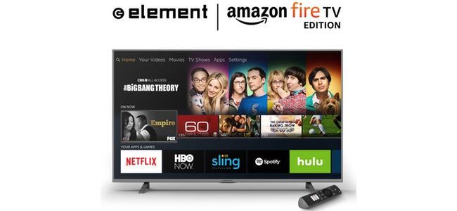米AmazonがFire TVを内蔵したテレビ「Amazon Fire TV Edition」を発売。4K対応で43インチ449ドルから