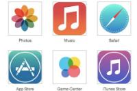 iOS 7のフラットアイコンはこんな感じ!さらに電波受信アイコンが無くなるって本当!?