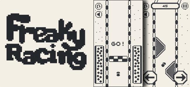 わぁ、懐かしい8bitレースゲーム!…あ、これ即死系のやつだ!「Freaky Racing」レビュー