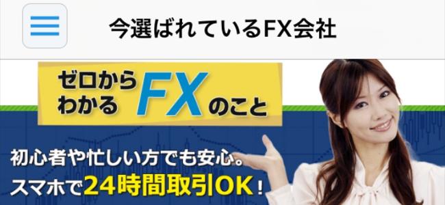 初歩の初歩から簡単にFXが分かる!「FXの極み」