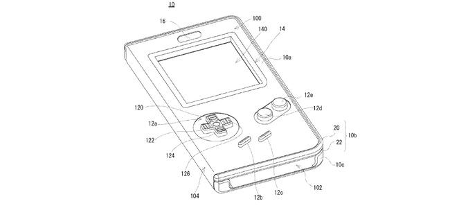 任天堂がスマホをゲームボーイ化するケースの特許を出願していたことが判明