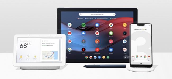 Googleが新スマートフォン「Pixel 3/3 XL」やスマートディスプレイ「Google Home Hub」、Chrome OS 2in1タブレットPC「Pixel Slate」を発表