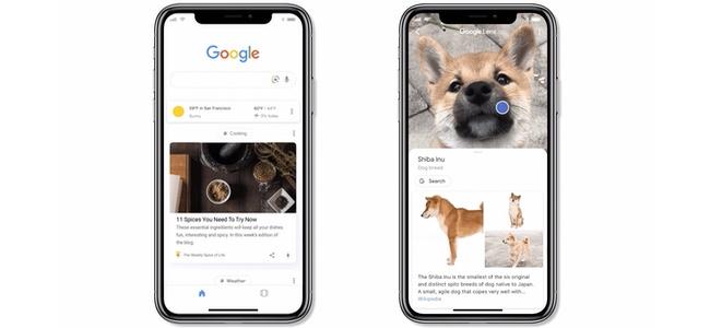 カメラに映したものが検索される「Google レンズ」のリアルタイム検索がiOSでも使えるように!「Google」アプリ内で順次公開