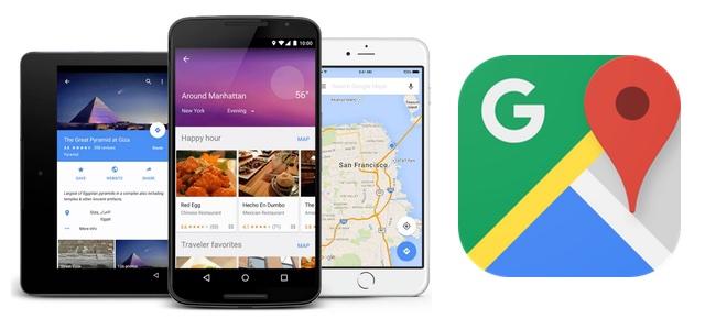Googleマップがアップデート。今いる場所をチェックインしてタイムラインに加えられるように
