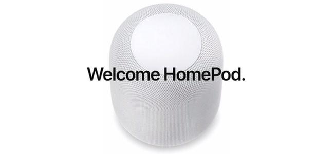 Appleのスマートスピーカー「HomePod」の発売日が2月9日に決定。予約は1月26日から。※米国、オーストラリア、イギリスにて