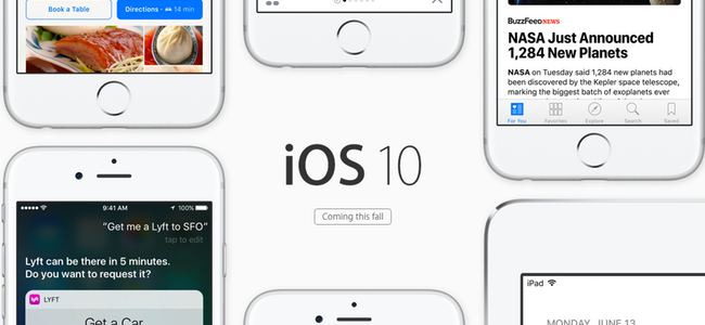 この秋公開!iPhone、iPadがさらに使いやすくなる新しい「iOS 10」の機能をまとめて紹介!