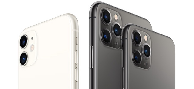 iPhone 11シリーズ、「iPhone 11」も「iPhone 11 Pro」「iPhone 11 Pro Max」も全て4GB RAMの模様