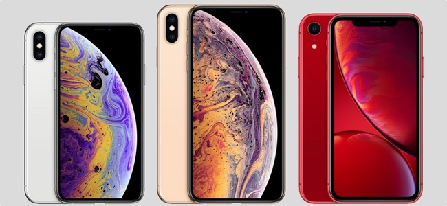 iPhone XS/XS MaxはiPhone XRよりも電波の受信感度が高い