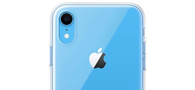 AppleがiPhone XRで初の純正クリアケースを発売する模様
