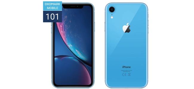 DxO MarkにてiPhone XRがシングルカメラのスマートフォンとしては最高の評価を獲得し世界1位に。全体でも7位と大健闘