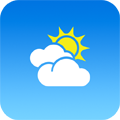 気温をバッジでお知らせする機能も!透明感のある美しい天気アプリ「Aero」