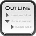 頭の中の作業単純化が驚くほどラクに!蛇腹式操作のメモアプリ「Outline」