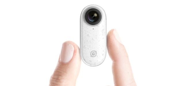 極小のウェアラブルカメラ「Insta360 GO」発表。重さ20g、世界最小の手ブレ補正機能を搭載、服につけたり、専用スタンドであらゆるアングルで撮影が可能
