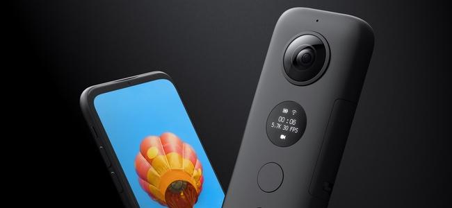 カメラを投げて手の届かないアングルから360度撮影が可能「Insta360 ONE X」が発表
