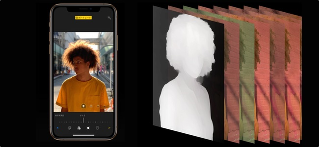 iOS 12.1では「iPhone XS」「iPhone XS Max」でカメラ撮影時にリアルタイムで被写界深度の調整が可能に