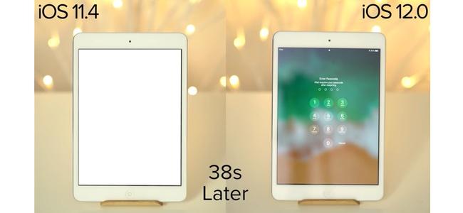 iOS 12最大の特徴の1つは、古い機種でも動作の高速化が見込める点。iPhone 5sやiPad mini 2など古い機種から最新のiPhone 8まで動作比較映像のまとめ
