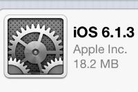 Apple、セキュリティ強化とマップ性能を向上させるアップデート「iOS 6.1.3」を配信