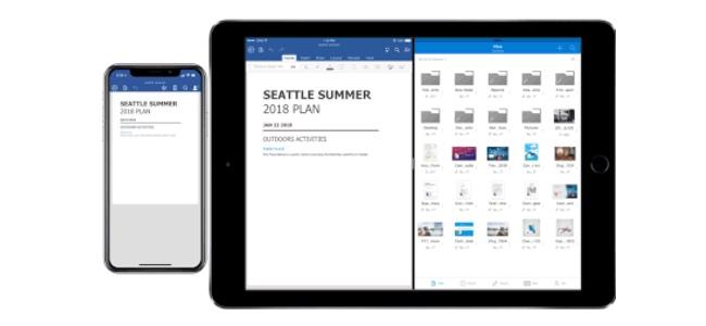 Microsoftの「Office for iOS」がアップデート内容を発表。iPadでのドラッグ&ドロップやリアルタイムでの共同編集などに対応