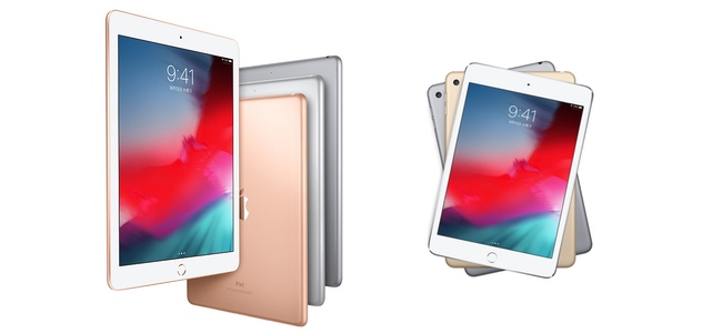 ユーラシア経済委員会の認証データベースに新型の9.7インチiPadとiPad mini 5とみられるデバイスが登録される