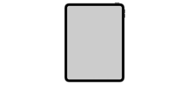 iOS内部から新iPad Proの詳細な内容がわかるアイコン画像が発見される。ホームボタン・ノッチ無しでディスプレイの角が丸くなっている模様