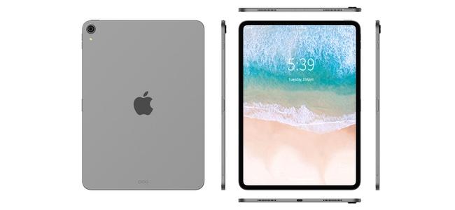 新iPad Proの形状など詳細が書かれた画像が登場。角はエッジが立ち、謎のボタンが追加?