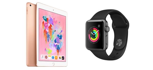 Amazonの初売りセールでiPad(第6世代)とApple Watch Series 3がセール価格で販売中。1月3日の24時間限定