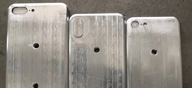 iPhone 8に加えてiPhone 7s/7s Plusの金型らしき写真がリーク。7sシリーズは7シリーズから全く変化無し!?