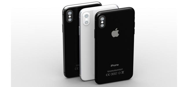 iPhone 8のカラーはブラック、ジェットブラック、ホワイト(シルバー)の3色展開か