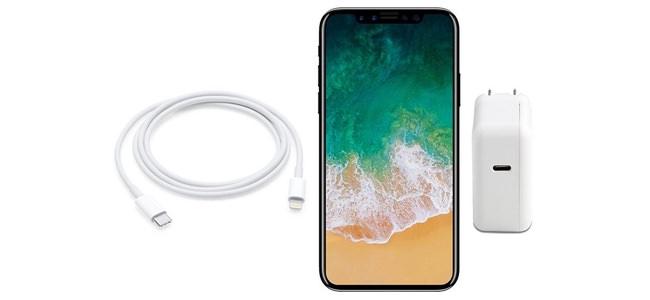 iPhone 8には10WのUSB-CアダプタとUSB-C to Lightningケーブルが同梱される?