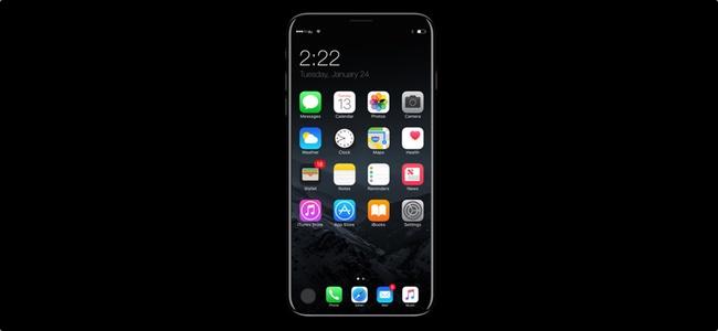 iPhone 8のディスプレイには仮想ホームボタンは搭載されるがTouch ID機能は無し?指紋認証自体が無くなり顔認証のみに?