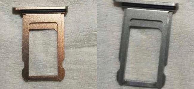 iPhone 8の新カラーは「ブラッシュゴールド」?SIMカードトレイの流出画像が登場