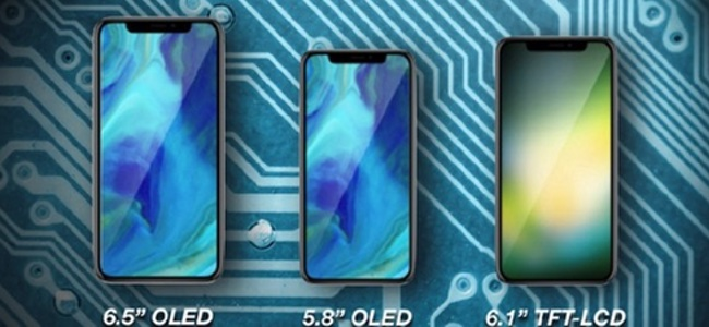 Foxconnが今年の新iPhoneの量産を開始。全部で4つのタイプが存在し、6.1インチモデルが2タイプあり?