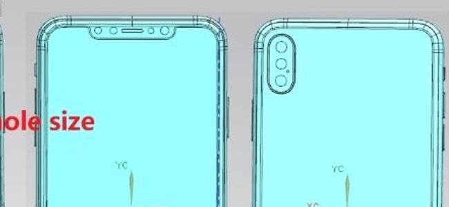 次期iPhoneのうち6.5インチモデルと6.1インチモデルの図面が流出か。6.5インチモデルのカメラはトリプルレンズではなくデュアルレンズの可能性