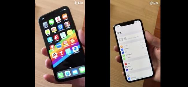 iPhone SE2はホームボタン無しでFace ID(とノッチ)も搭載、背面カメラもDuoカメラ仕様?Weiboに端末動画が投稿される