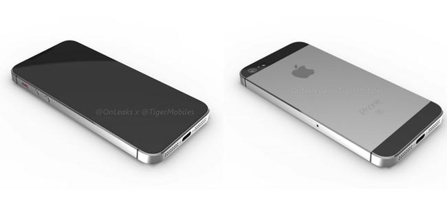 iPhone SE 2、ホームボタンなしで背面はアルミツートンで旧機種そのままの今までの噂と真逆の予想レンダリング画像が登場