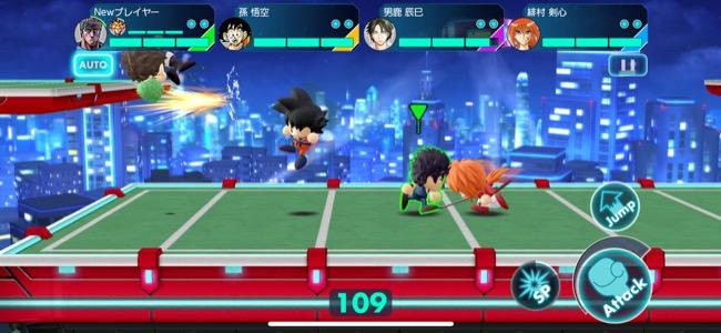 ジャンプキャラ総出演!四人同時対戦可能なふっ飛ばしアクションバトルゲーム「ジャンプ 実況ジャンジャンスタジアム」リリース!