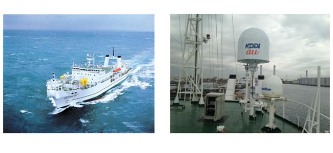 KDDIが災害時にグループが保有する船舶による海上からの携帯電話サービス提供を発表