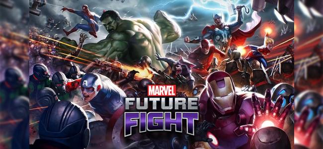 アベンジャーズとマーベルのヒーロー、ヴィランでチームを編成し世界を守れ!アクションRPG「MARVEL Future Fight」