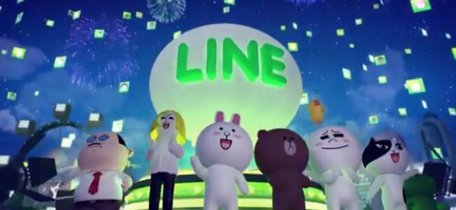 LINE、ついに全世界でユーザー3億人を突破!2014年には5億を目指す!