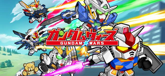 LINEゲームにガンダム参戦!「LINE: ガンダム ウォーズ」が本日より事前登録開始!