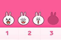 iPhone版「LINE」に着せかえ機能が追加!第一弾はとっても可愛い「コニー」デザイン!