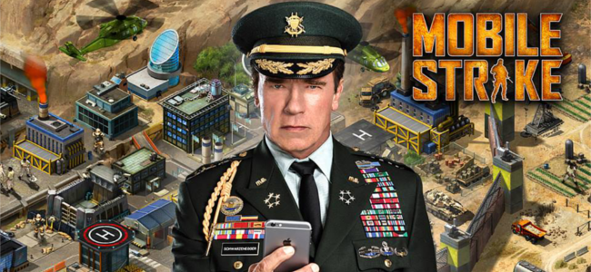 軍事基地を築き、最強部隊で世界中のプレイヤーと戦え!リアルタイム戦略MMORPG「モバイルストライク」
