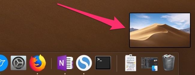 MacのMojaveから追加されたスクリーンショット撮った際に右下にでるプレビューの便利な使い方