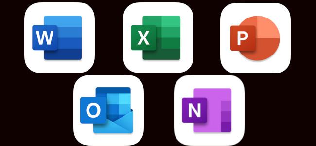 「Word」や「Excel」などのMS OfficeのiOSアプリがアップデートでアイコンを最新デザインに変更