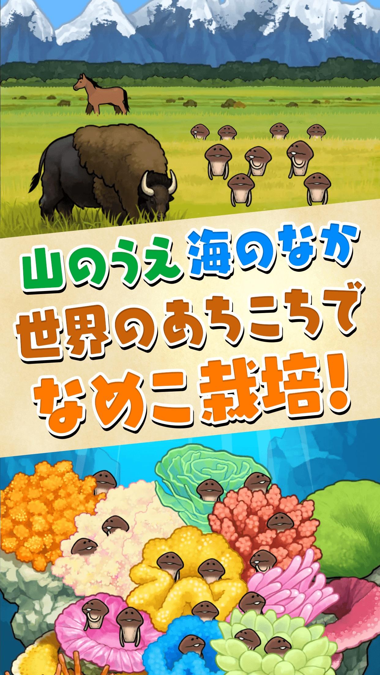 なめこシリーズ最新作 なめこ栽培キット ザ ワールド リリース